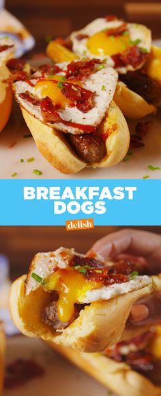 Prefer Breakfast Sausage Over Bacon? These Breakfast Dogs Are For You