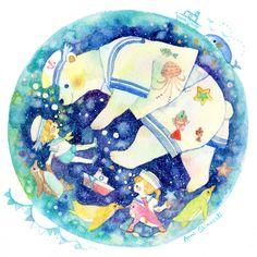 ちびっこ水兵さん by しまざきあんみ | CREATORS BANK http://creatorsbank.com/anmi_s/works/276940