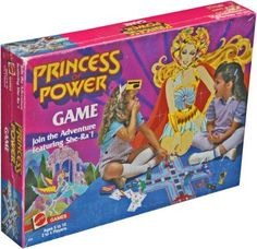 She-Ra Princess of Power board games 1980s