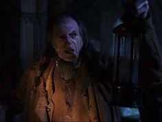 Y1: Argus Filch, Hogwart's caretaker.