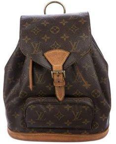 45d913f61061 Louis Vuitton Monogram Mini-Montsouris Backpack Louis Vuitton Monogram