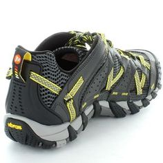 Merrell Mens Waterpro Maipo Hiking Trail Shoes Carbon / Empire Yellow | eBay For chase!!