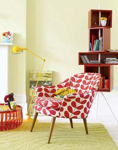 pretty pattern, pretty chair