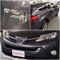 Ya lo viste plateado, ahora conócelo gris metálico ¡espectacular! #ToyotaRav4 2015, disponible en #Autoamérica Tel. 4441121