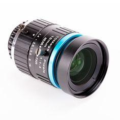 Die 16mm 10 Megapixel Teleobjektive ist passend für die Raspberry Pi High Quality Kamera für Fotografie und Video aufnahmen zu erstellen. Der Feldwinkel (DxHxV°) liegt von 16.4° bis 44.6° und einer Blend von F1.4 bis F16. Die 16mm Teleobjektive hat eine Auflösung von 10 Megapixel und eine minimale Objektdistanz (M.O.D. - minimal object distance) von 0.2 Meter. Arduino, Binoculars, Videos, Raspberry, High, Minimal, Products, Focal Length, Camera Lens