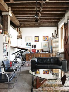 Ken's studio at The Rocks, adjoining his gallery. Photo – Eve Wilson. Production – Lucy Feagins/The Design Files.