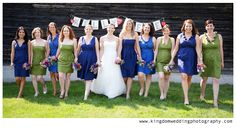 Kingdom Wedding Photography by Kat, the bridal party