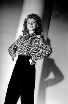 Rita Hayworth #leopard