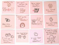 Kismet, Art, and Life - cute valentines using DeNami Design critters stamps created by Dana Seymour
