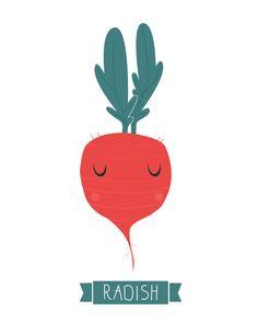 funny radish