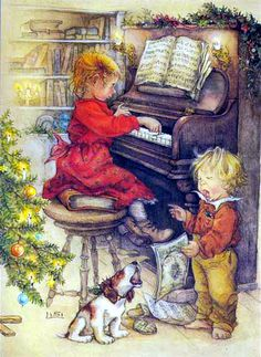 Children ~ Lisi Martin ~ Christmas