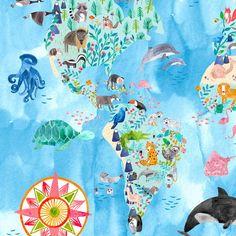 Die 25 besten Bilder von Kinderzimmerposter von Frau Ottilie ...