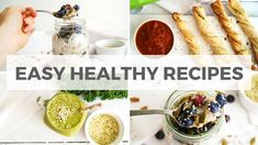 3 Quick & Healthy Recipes With Hemp Hearts | Breakfast, Lunch, Snack | Healthy Grocery Girl