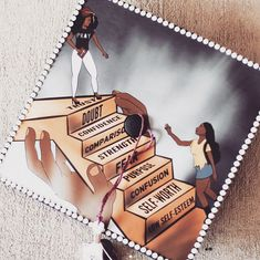 Black graduates did not hold back with bringing the Black Girl Magic and Black Boy Joy to their grad caps this year. From celeb inspired styles to salutes to school spirit, the class of 2017 did not disappoint. Custom Graduation Caps, Graduation Cap Toppers, Graduation Cap Designs, Graduation Cap Decoration, Graduation Diy, Nursing Graduation, Grad Cap, Graduation Pictures, Graduation Quotes