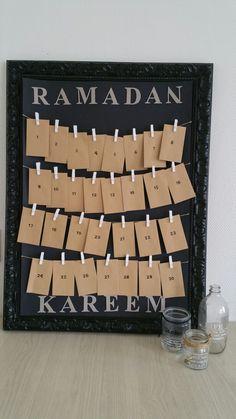 Ramadan kalender!!