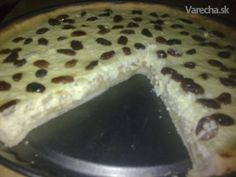 Rebarborový koláč s tvarohom (fotorecept) - recept | Varecha.sk Ale, Pancakes, Pudding, Breakfast, Desserts, Food, Basket, Morning Coffee, Tailgate Desserts