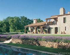 Atlanta-based designer Ginny Magher's farmhouse in Provence ~ Le Mas de Barquet