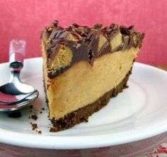 Yum!  If you love Reese's Peanut Butter Cups, you'll go crazy for this recipe for Perfect Peanut Butter Cup Pie. A no-bake dessert that will win your heart for sure...