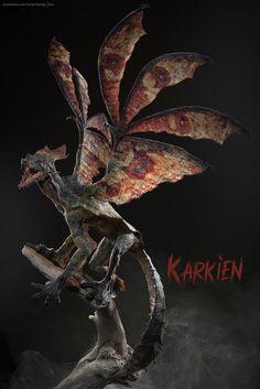 ArtStation - Karkien: The King of Forest, Namju Kim