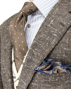 Andrea Campagna | Brown Tweed Jacket |