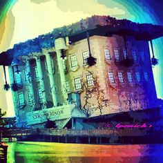 Wonderworks...an upside down building full of adventure located at Broadway at the Beach, Myrtle Beach, SC...