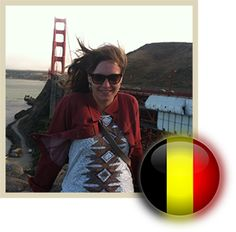 [Meet me! On Live Work Travel USA] Meet Nathalie, who moved to California after meeting her future husband in London, England. Work Travel, Travel Usa, San Diego Living, Moving To California, London England, Future Husband, Belgium, Interview, Meet