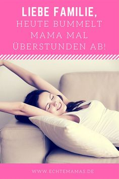 Ich bin wirklich verdammt gern Mama – und ich genieße die Zeit mit meinem Kind. Aber ab und zu muss ich mir auch eine Auszeit gönnen. Deswegen liebe Familie, heute bummelt Mama mal Überstunden ab! Foto: ©️Bigstock #mamakolumne #auszeit