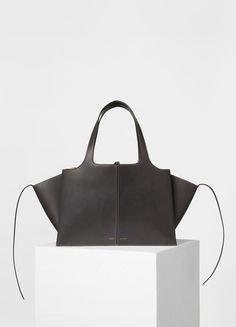 Medium Tri-Fold Shoulder Bag in Supple Natural Calfskin - Spring / Summer Collection 2017   CÉLINE