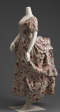 Robe à la Polonaise 1785 The Museum of Fine Arts, Boston (OMG that dress!)