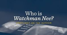 book by watchman nee - Google Search