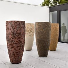 atelier vierkant - Google Search lovely container pots for the creative