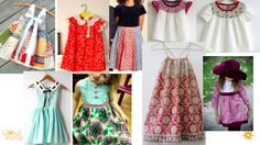 Little Girl's dresses inspiration! #GlobalMamas #FairTradeFashion #Ghana