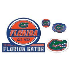 Florida Gators Game Day 4-Piece Magnet Set, Multicolor