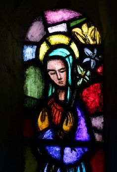 Blessed Virgin at the Annunciation (Phillip Brown, 1952) | Flickr - Photo Sharing!