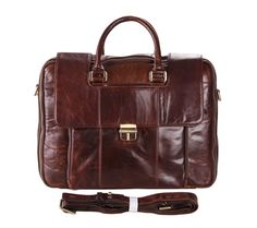 Warwick Genuine Leather Handmade Messenger Bag Tote