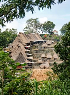 Indonesia. The magical villages of Flores.