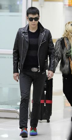 T.O.P (탑) - #Airport_Fashion