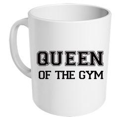 """mug """"queen of the gym"""" - MUG ME"""