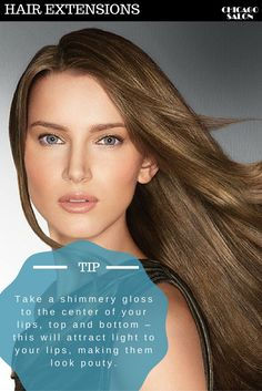 Be more beautiful with the tips from Chicago Hair Extensions Salon #hair #hairtips #hairextensions #beauty #hairstyle #chicagohairextensionssalon