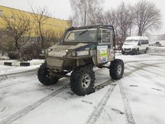 Катлета УАЗ, UAZ Bogger