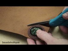 Bead Embroidery: How to Trim the Foundation and Attach the Backing. - In this video learn how to trim your Lacys Stiff Stuff backing in bead embroidery and attach a backing such as ultra-suede which will hide your threads and give your piece a Bead Embroidery Tutorial, Bead Embroidery Patterns, Bead Embroidery Jewelry, Beaded Embroidery, Beading Patterns, Beaded Jewelry, Seed Bead Tutorials, Jewelry Making Tutorials, Beading Tutorials