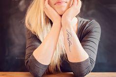 Betsy Dunlap calligraphy, 'Isa & Liam'. ♥ ♥ ♥ #tattoo Kids names!