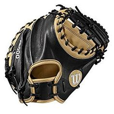 Wilson 33 Catcher's Baseball Mitt, Right Hand Throw, Black/Tan Baseball Series, Baseball Videos, Softball Gloves, Baseball Gloves, Baseball Caps, Softball Catcher, Batting Gloves, Louisville Slugger, Stuff To Buy
