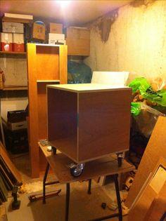 diy studio recording desk 19 inch rolling rack 12 U