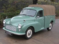 This 1967 Morris Minor pick-up (chassis MAU5L21839-5) looks like a nice, solid, sorted driver with an... #classictrucks