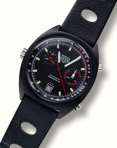 2011 Heuer Monza Calibre 36. Never saw one before. Love.