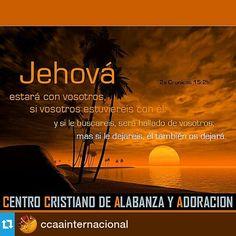 Busca a Jehova y lo encontraras...