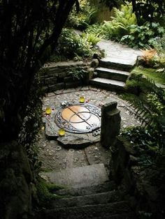 Chalice Well head ~  SACRED POOL IMAGES ©2004