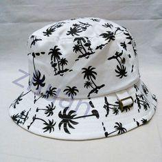 0a613e837d3 White Unisex Bucket Hat Boonie Hunting Fishing Outdoor Cap Men s Summer Sun  Hats  Bucket Bucket