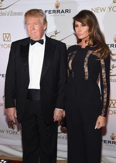 Donald Trump's Wife Melania Has Told Him to Tone It Down  - ELLE.com
